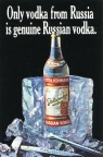 Only vodka from Russia is genuine Russian vodka
